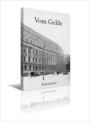 Buch Cover - Vom Gelde
