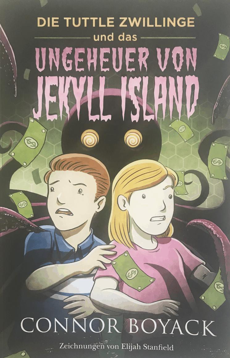 Buch Cover - Ungeheuer von Jekyll Island