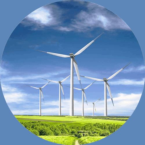 Ökostrom Windräder