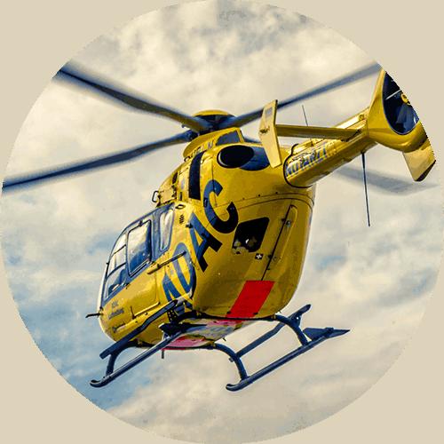 Unfall ADAC Hubschrauber