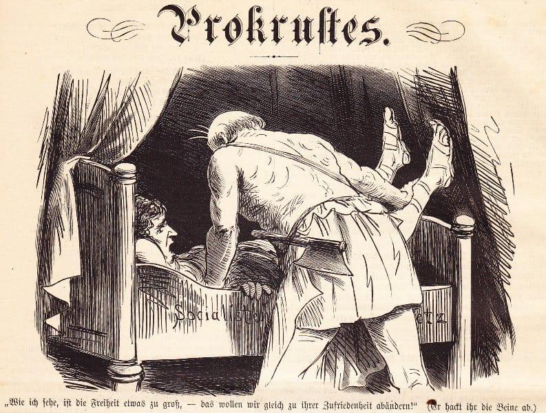 Willkommen im Bett des Prokrustes
