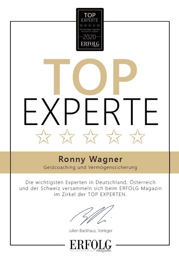 Top Experte Siegel