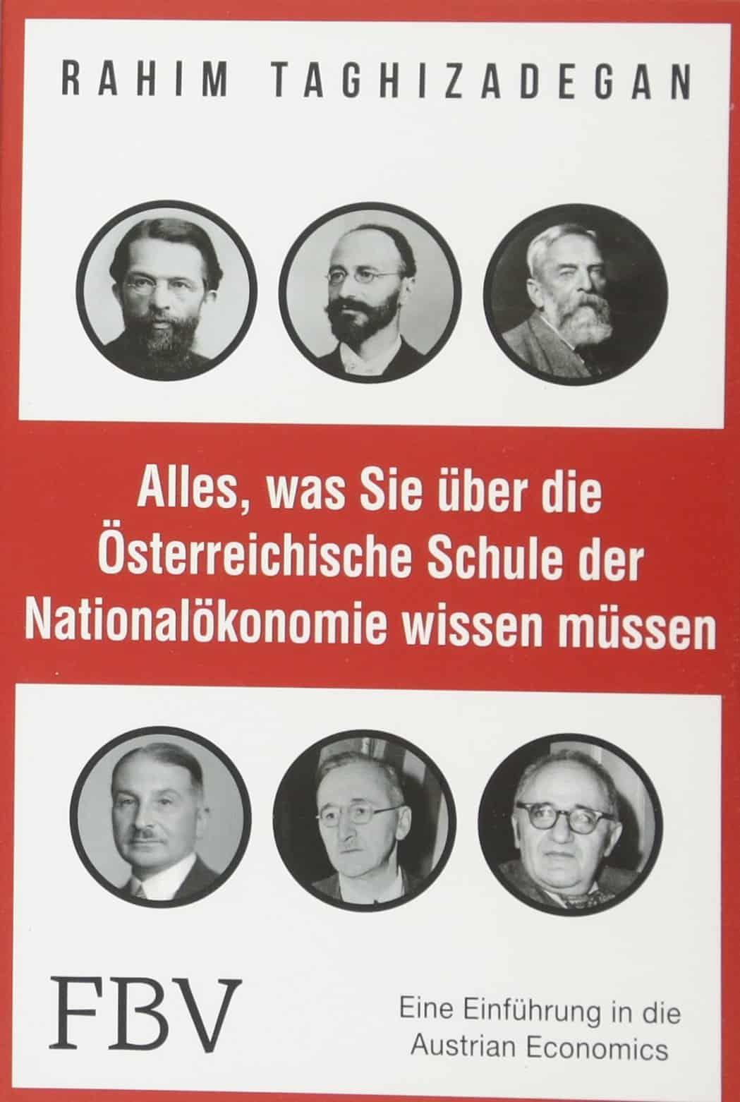 Buch Cover - Alles was Sie über die österreichische Schule der Nationalökonomie wissen müssen
